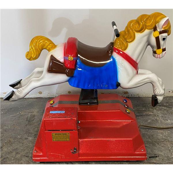Beautiful Horse Kiddie Ride