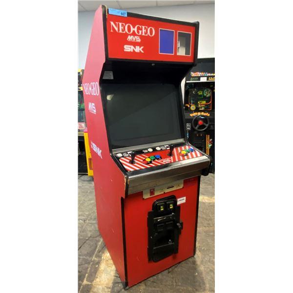 Neo Geo SNK Dual Cartridge Arcade Machine(Screen Not Working)