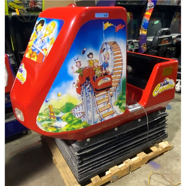 Kiddie Coaster Video Kiddie Ride