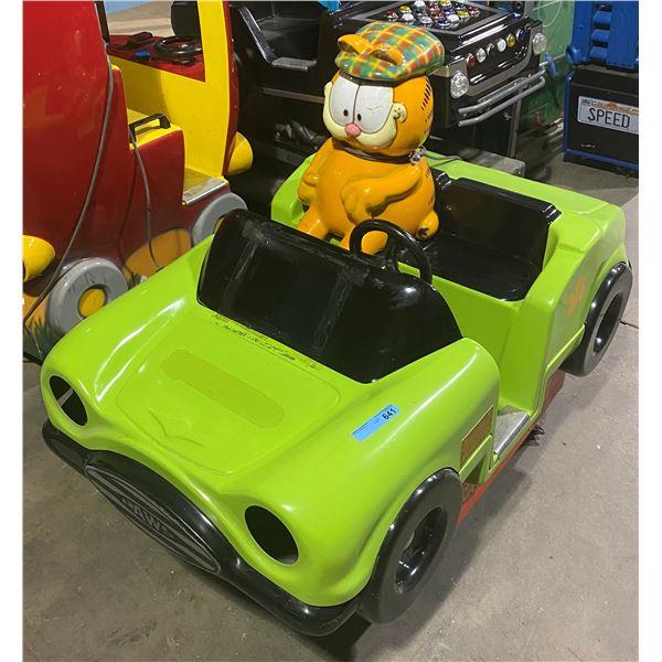 Garfield Kiddie Ride