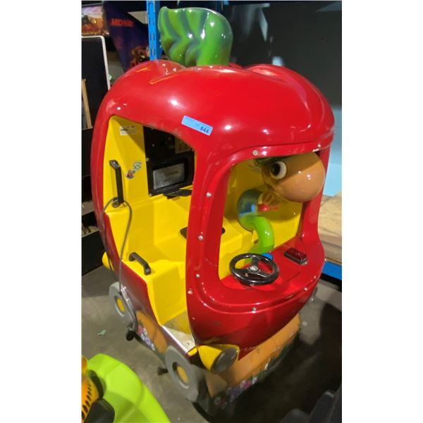 Apple and Worm Kiddie Ride (The Busy World of Richard Scarry)