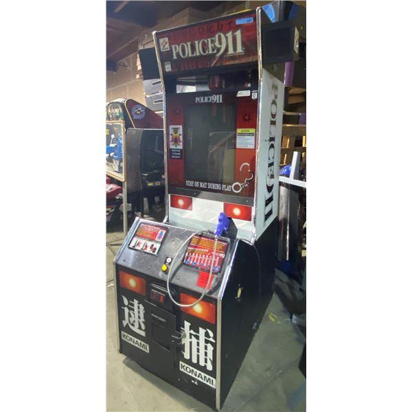 Police 911 Shooting Game Arcade Game