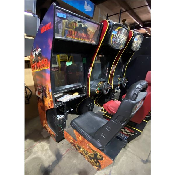 Off Road Challenge Incomplete Arcade Game