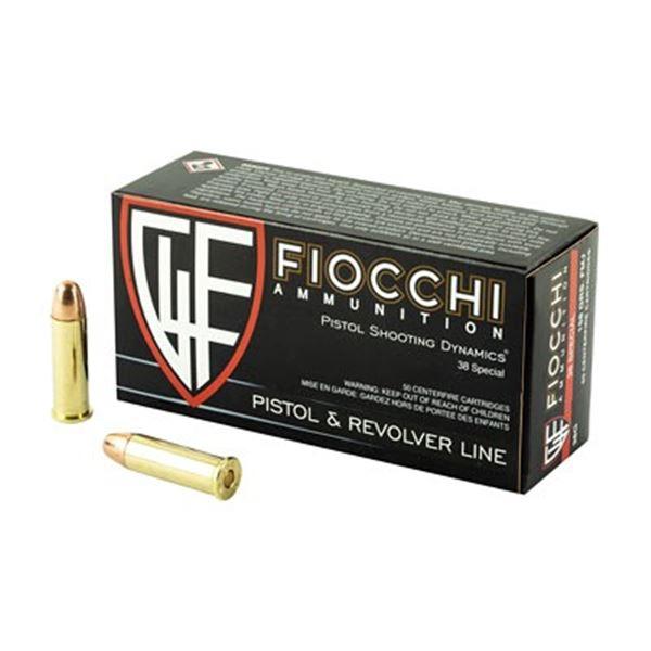 FIOCCHI 38SPL 158GR FMJ - 50 RDS