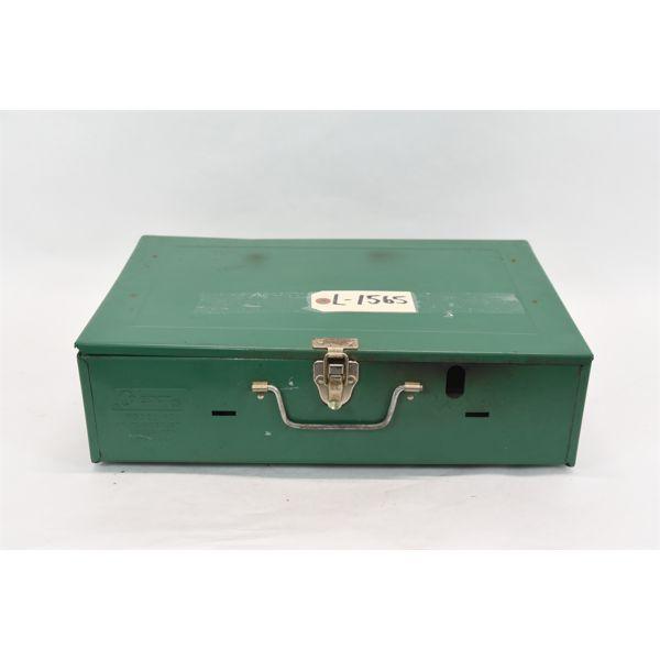 Box Lot Coleman Classic 2-Burner Naphtha w/ Spare Generator