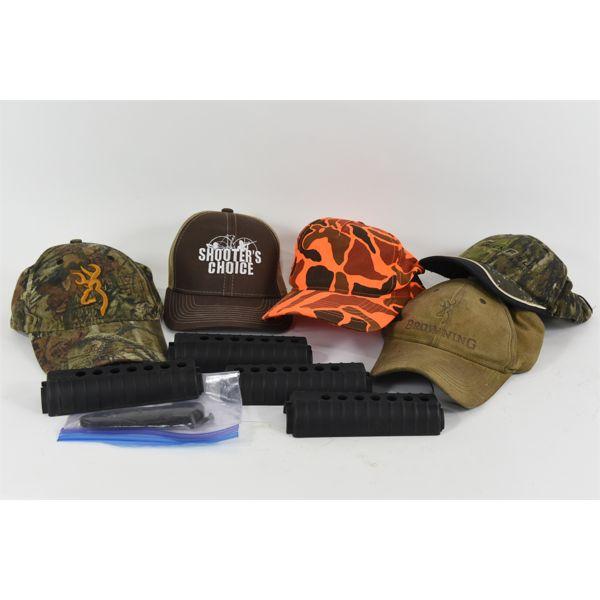 Box Lot Ball Caps / AR Forearms