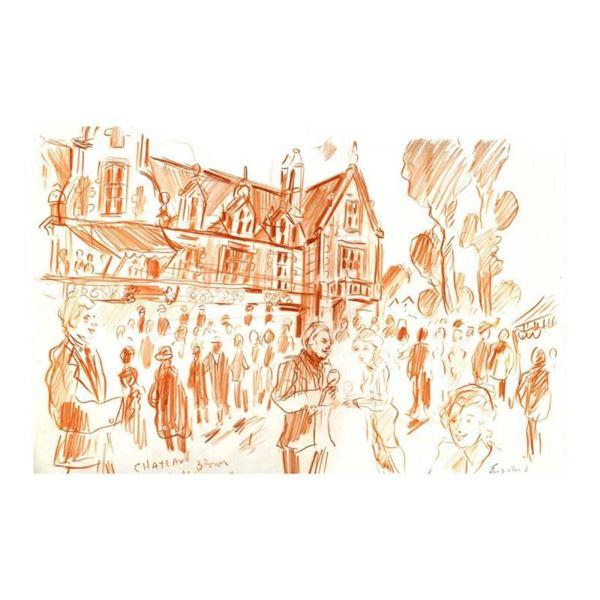 Soiree at Chateau Cantenac-Brown by Ensrud Original