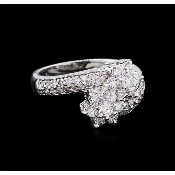 0.76 ctw Diamond Ring - 14KT White Gold