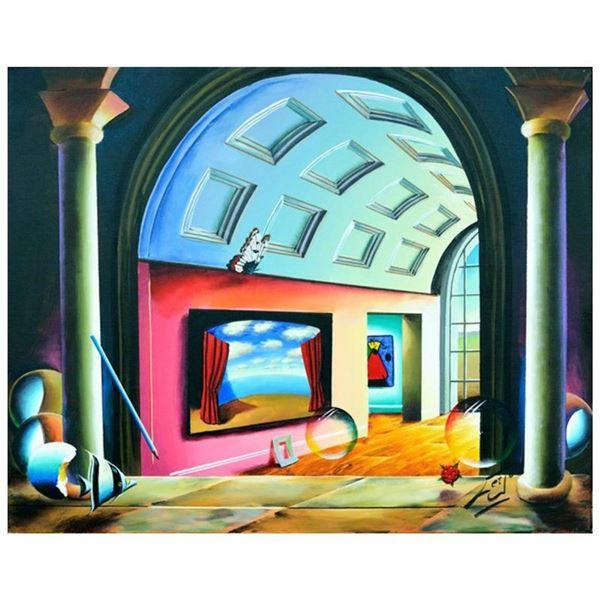 Magritte's Hallway by Ferjo Original