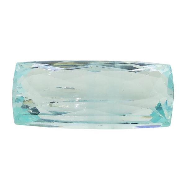 13.20 ct.Natural Cushion Cut Aquamarine