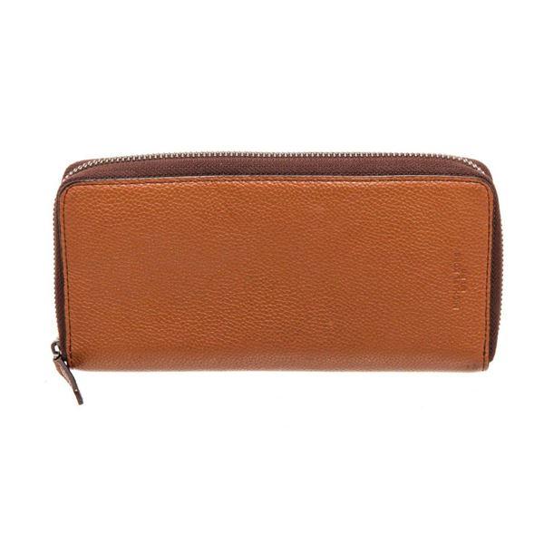 Michael Kors Brown Leather Jet Set Wallet