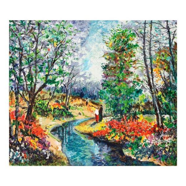 Autumn Stream by Polak (1922-2008)