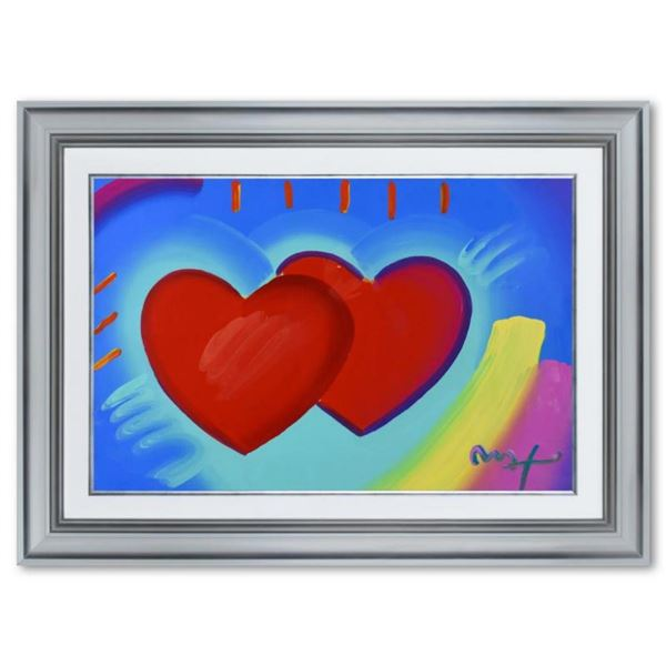 Two Hearts As One by Peter Max