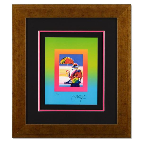 Umbrella Man on Blends by Peter Max