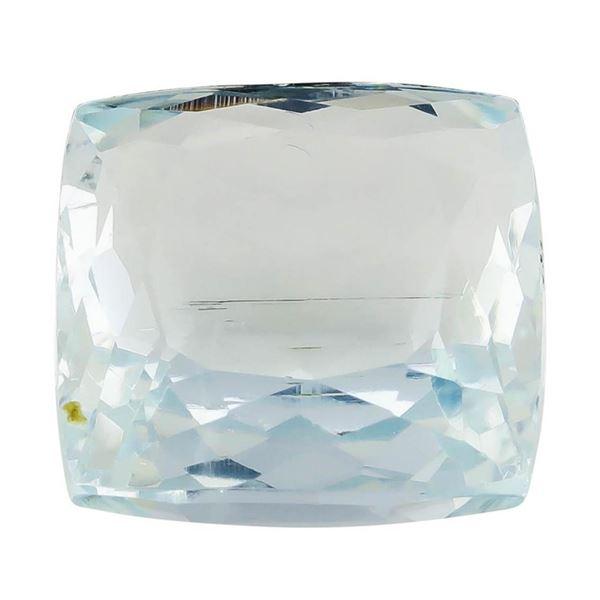 8.82 ct.Natural Square Cushion Cut Aquamarine