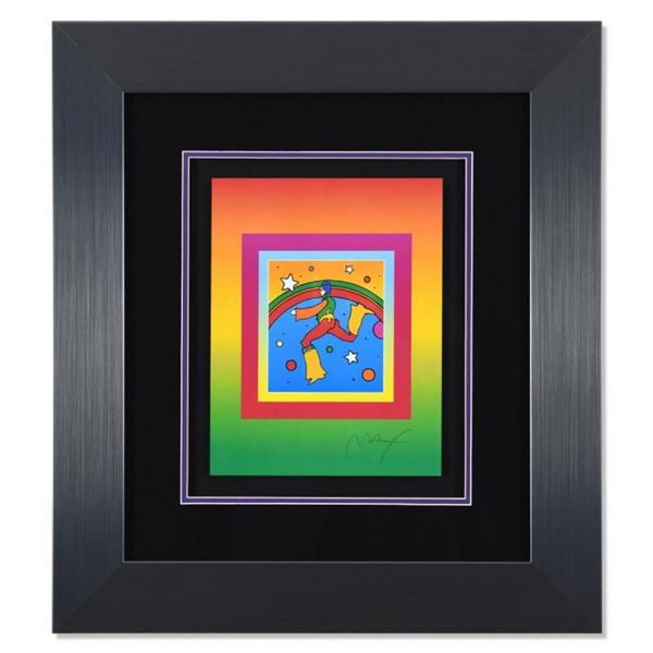 Cosmic Jumper on Blends by Peter Max