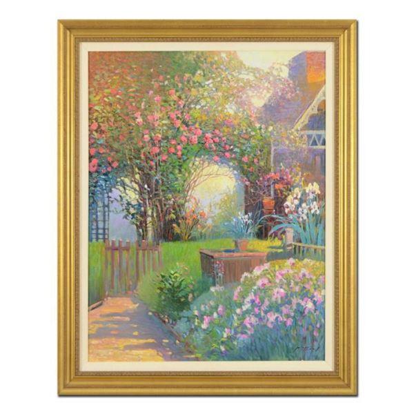 Rose Garden by Feng Original