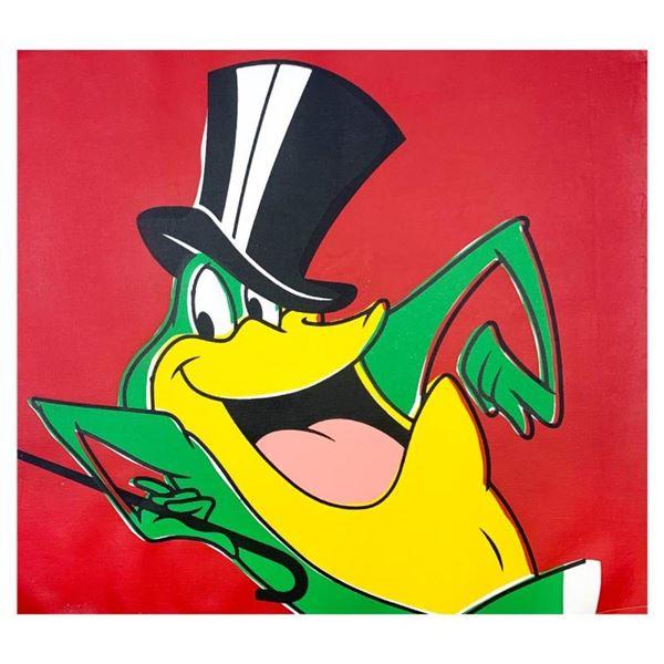 Michigan J Frog by Steve Kaufman (1960-2010)