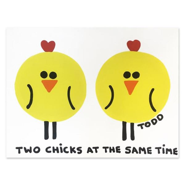 Two Chicks by Goldman Original