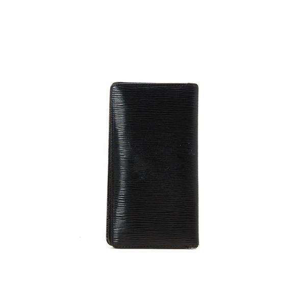Louis Vuitton Black Monogram Breast Pocket Wallet