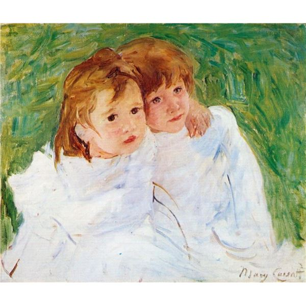 Mary Cassatt - The Sisters