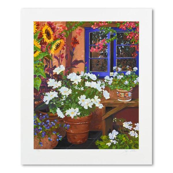 Geraniums by Powell, John