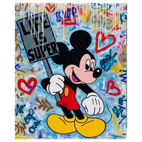 Life is Super by Jozza Original