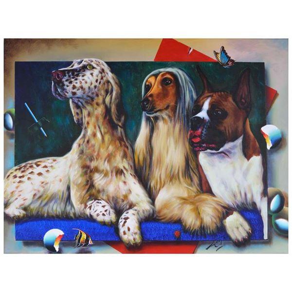 Portrait of Love by Ferjo Original