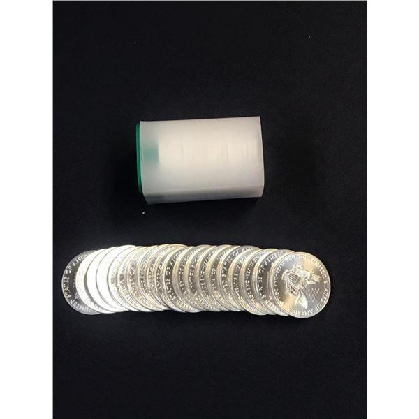 (40 COUNT) 2021 American Silver Eagle .999 Fine Silver Dollar Coins