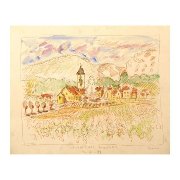 Chambolle-Musigny, Burgundy by Ensrud Original