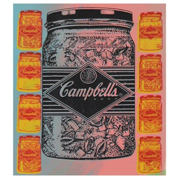 Campbell's Soup (Jar) by Steve Kaufman (1960-2010)