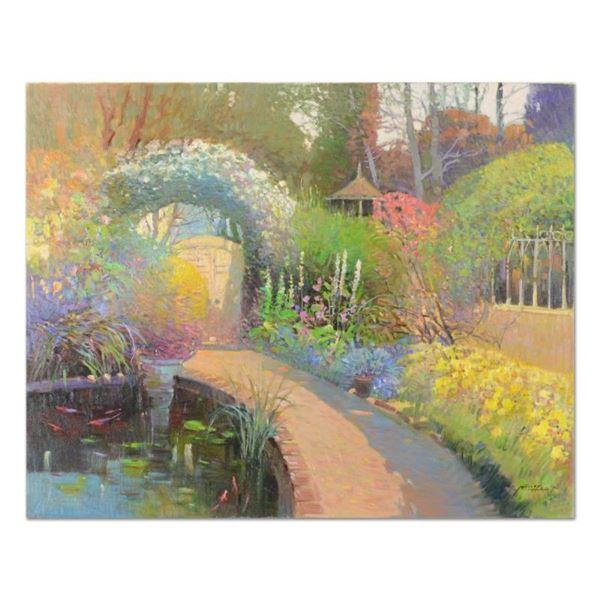 Koi Pond Garden by Feng Original