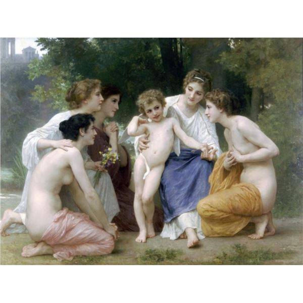 William Bouguereau - Admiration