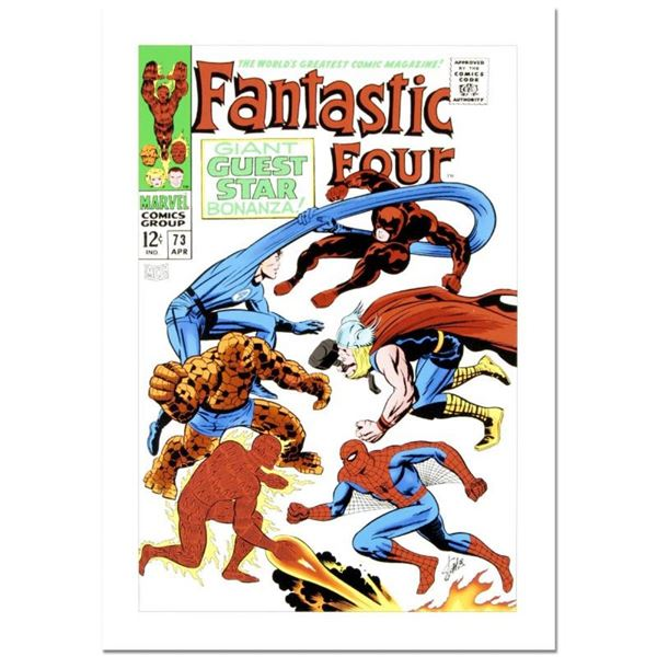 Fantastic Four #73 by Stan Lee - Marvel Comics