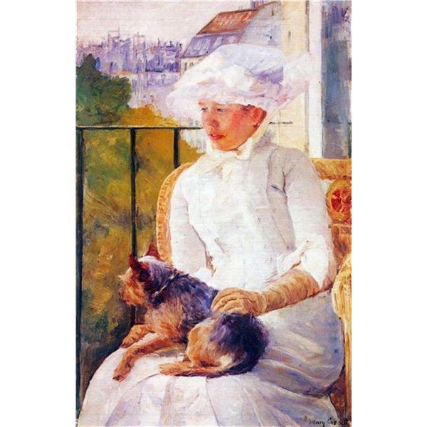 Mary Cassatt - Lady With Dog