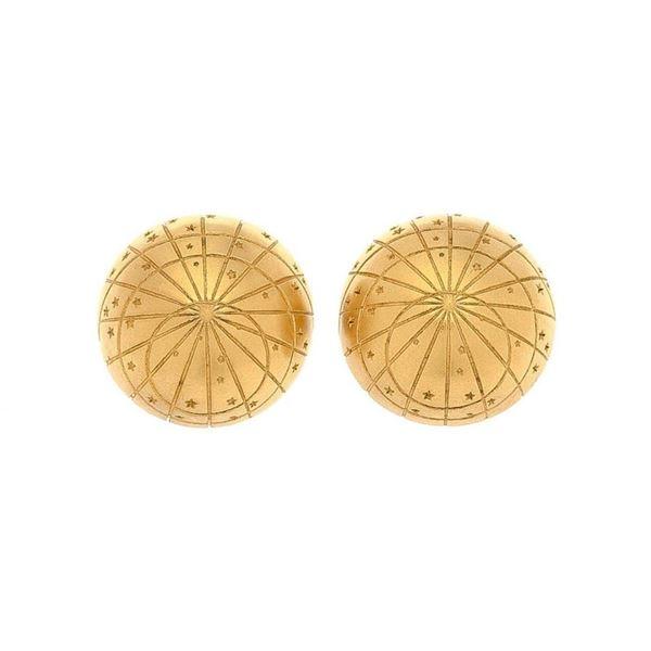 Hermes Gold Clip-on Earrings
