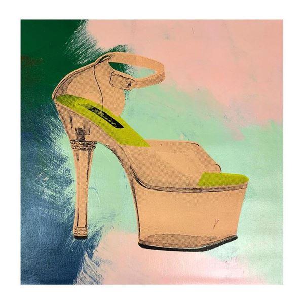 Stripper Shoes by Steve Kaufman (1960-2010)