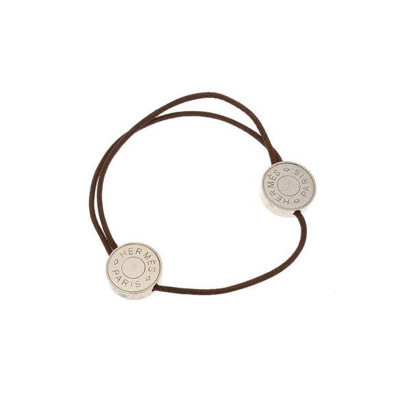 Hermes Silver Clou de Selle Bracelet