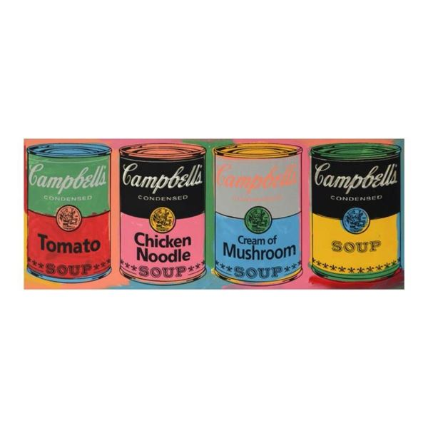 Campbell's Soup Cans (Variety) by Steve Kaufman (1960-2010)