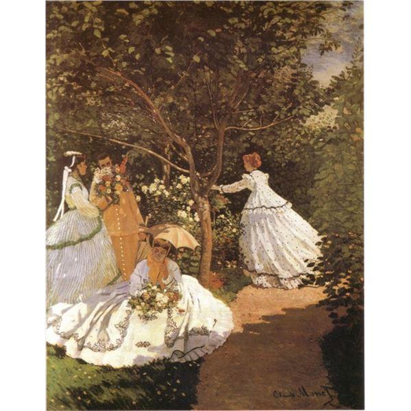 Claude Monet - Femmes au Jardin 1867