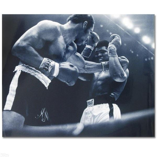 Ali and Norton Black And White by Ali, Muhammad