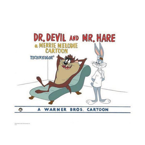 Warner Brothers Hologram Dr Devil