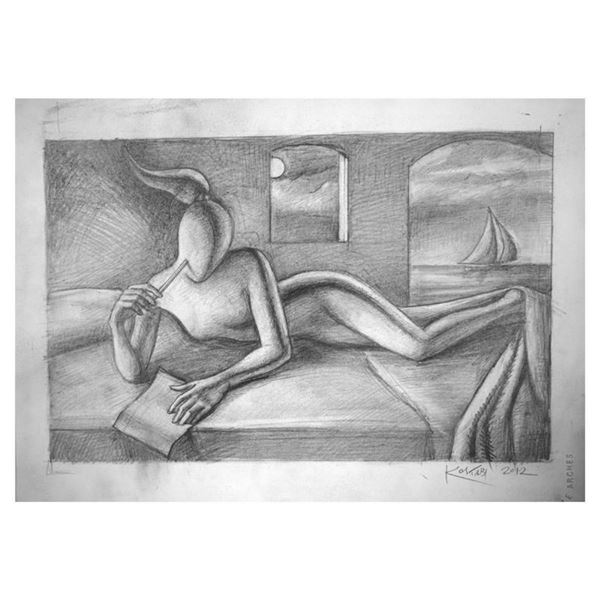 How Can I Tell You How Much l Love You by Kostabi Original