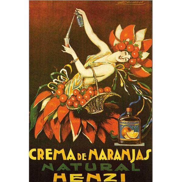 Achille Mauzan - Crema De Naranjas