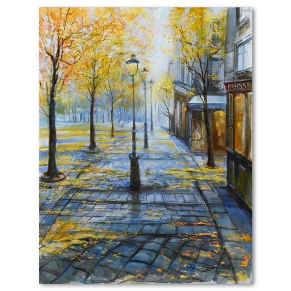 Lamp Post in the Mist by Suljakov Original