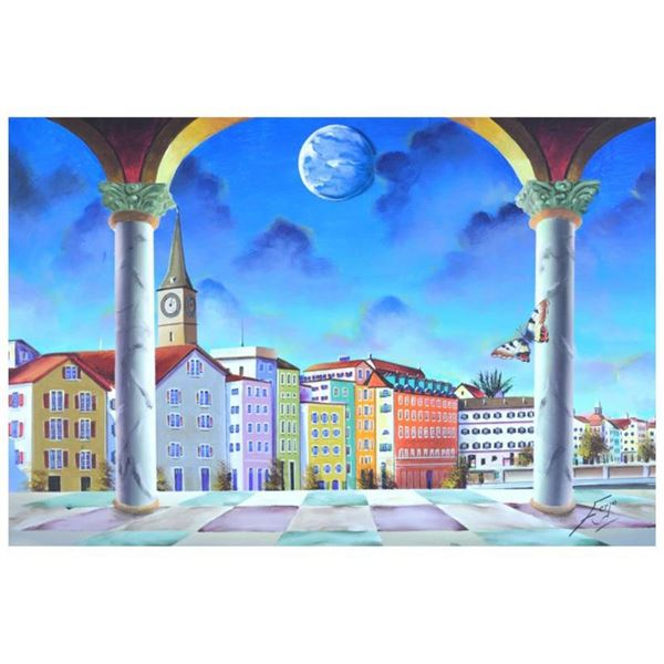 Switzerland Town by Ferjo Original