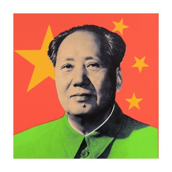 Chairman Mao by Steve Kaufman (1960-2010)