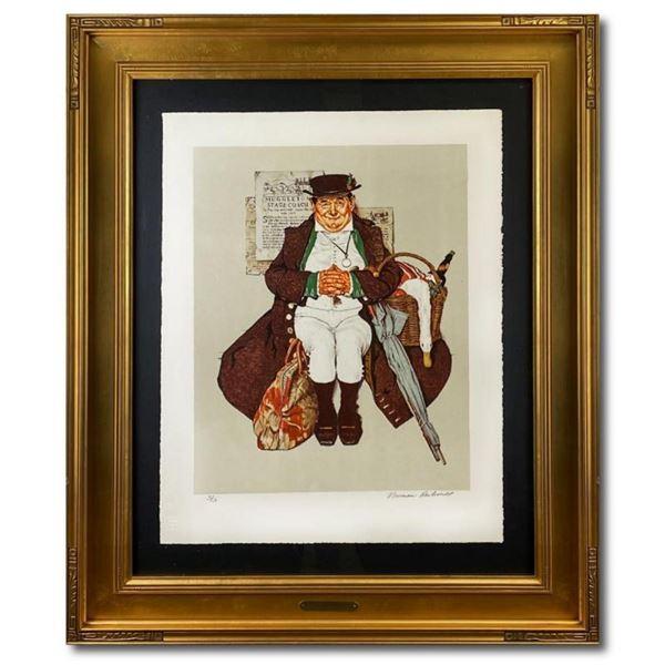 Muggleston Stagecoach by Rockwell (1894-1978)