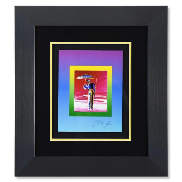Sage with Umbrella and Cane on Blends by Peter Max