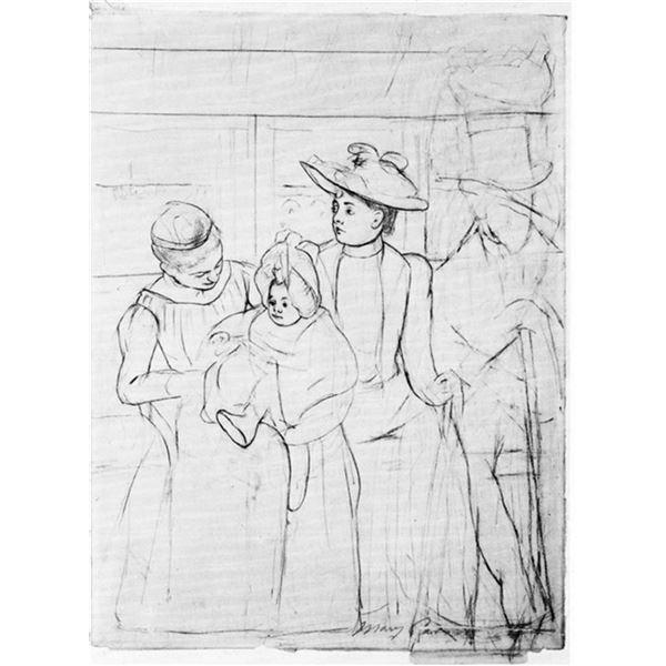 Mary Cassatt - In The Bus
